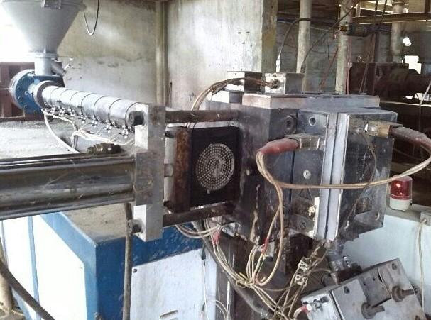 换网器在PP打包带生产线中的应用